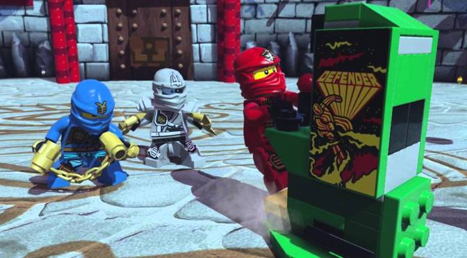 Lego Dimensions – Midway Arcade Level Pack Review