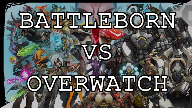 Battleborn VS Overwatch