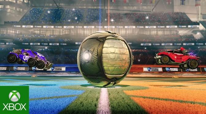Rocket League on Xbox One