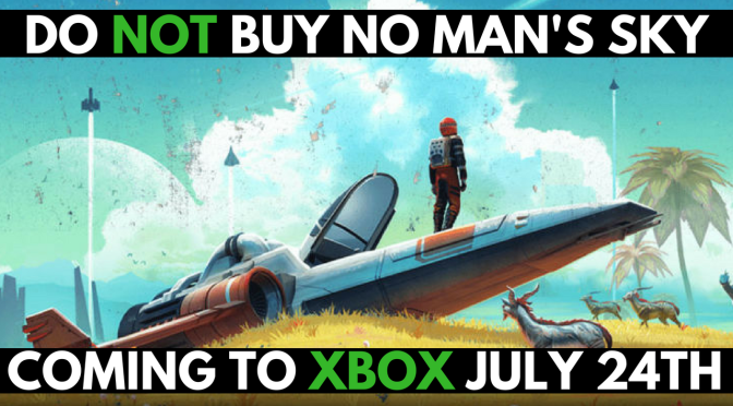 No Man's Sky Next – Coming to Xbox July 24th