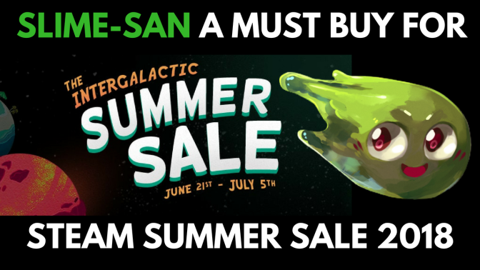 Slime-San – Stream Summer Sale MUST BUY at $8.99