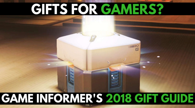 Gifts for Gamers? – 2018 Game Informer Christmas List Highlights
