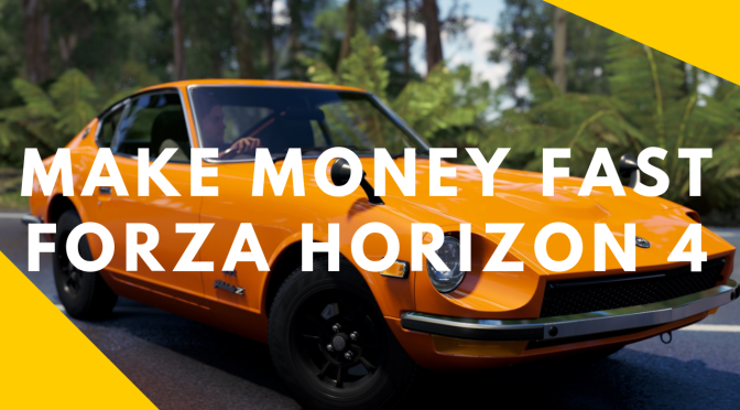 Forza Horizon 4 -Make Money (Credits) Fast- Turning Skill Points into Cash